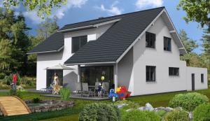 Bauvorhaben in Eppingen-Elsenz hintere Hausansicht