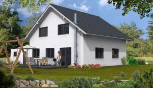 Bauvorhaben in Hassmersheim hintere Hausansicht